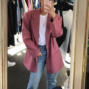 Vintage pink Jacquemus vibe blazer